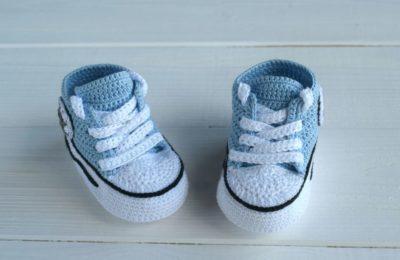 кроссовки пинетки