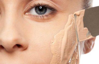 скрыть при помощи макияжа