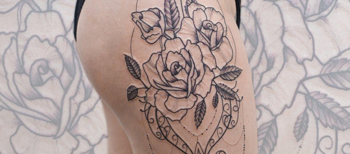 Коррекция татуировки