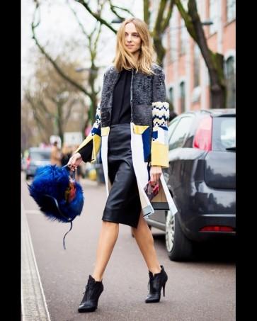 Как носить ботильоны с юбками и платьями