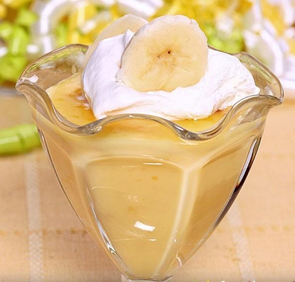 Ананасово - бананый десерт