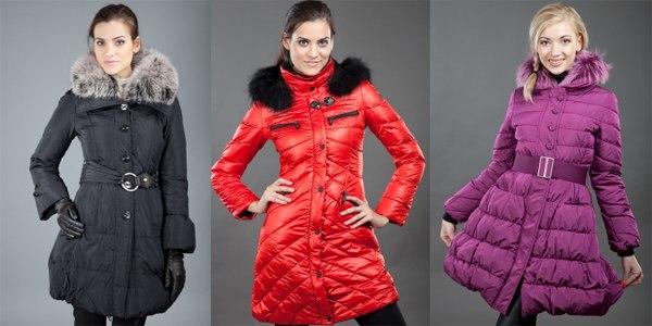 Стильные модные куртки и пуховики