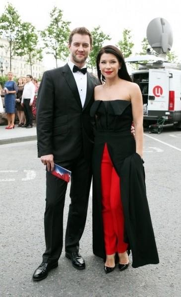Екатерина Волкова (с мужем)