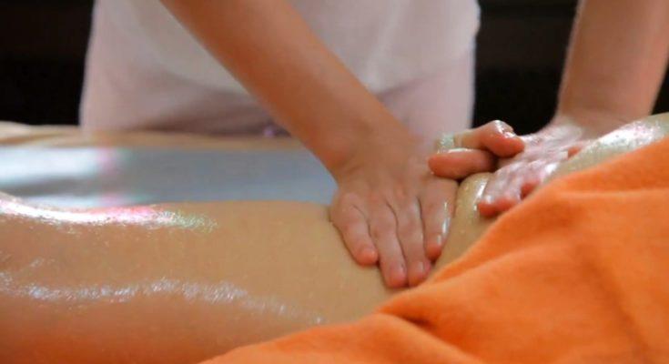 массаж медовый