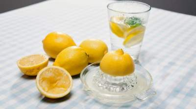 мифы о воде с лимоном