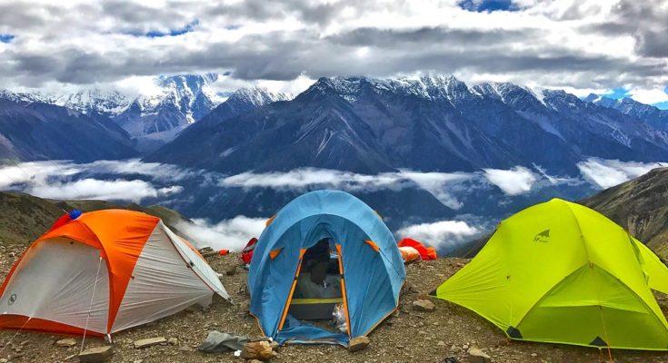 Палатка для ночевки