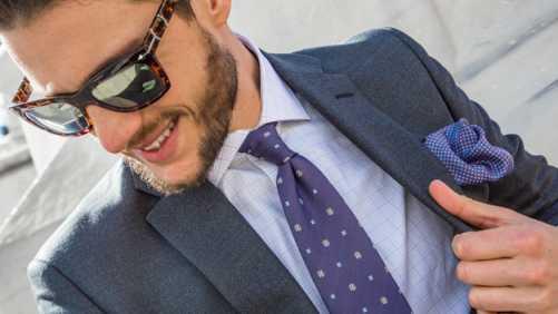 Ношение галстуков