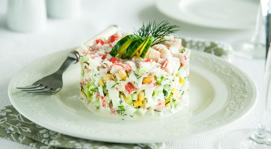 Салат из краба