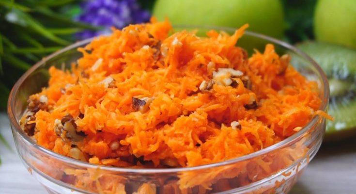 Сладкая морковь