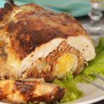Фальшивая фаршированная курица
