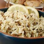 Как приготовить смесь золотистого риса с диким