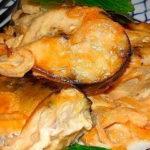 Скумбрия под майонезно-апельсиновым соусом