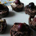 Фруктовые корзинки с творожно-шоколадной начинкой