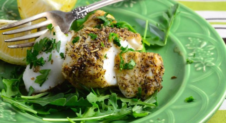 Как приготовить блюдо морской окунь с грибами