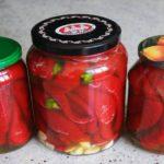 Консервированный красный острый перец