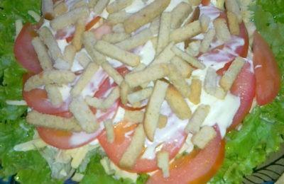 Приготовление салата сюрприз